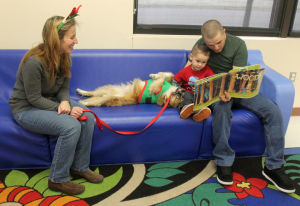 Fort Hood Paws for Reading
