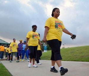 Diabetes Walk in Killeen