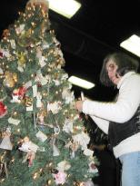 Christmas tree is solemn reminder
