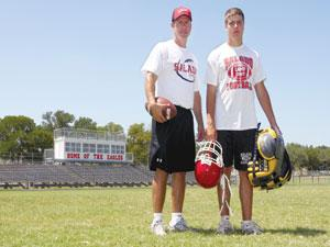 Salado coach's son uses football to help battle form of autism