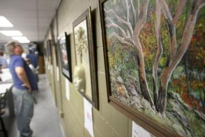 Trees Exhibit at Art Guild