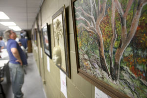 Trees Exhibit at Art Guild