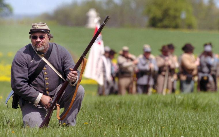 Gettysburg re-enactment
