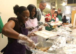Jesus Hope and Love Mission Thanksgiving Meals