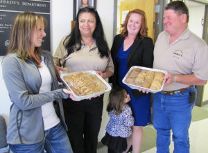 Cookies for Cops at Coryell County Sheriff's Office