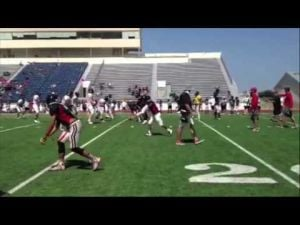 Harker Heights Football Scrimmage