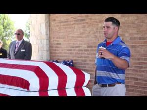 Graveside service and burial for Staff Sgt. Miguel Angel Colon Vasquez