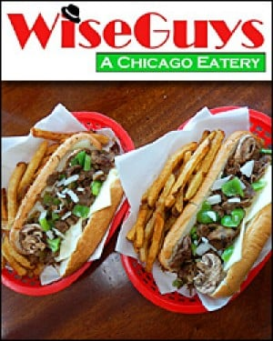 WiseGuys Chicago Cheese Steaks