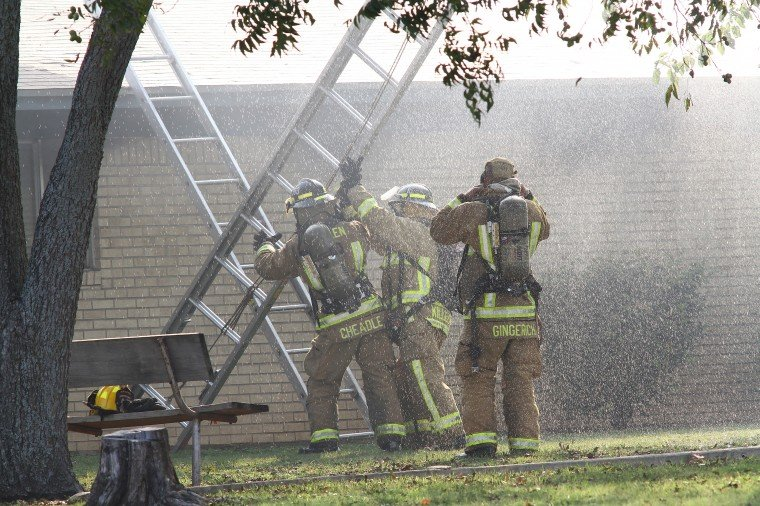 Gateway Middle School Destroyed by Fire