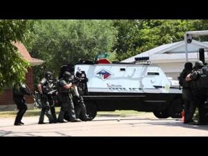 SWAT standoff Wednesday Sept  17, 2014   RAW FOOTAGE