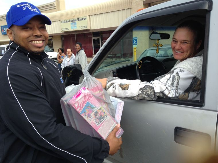 Youth group collects toys
