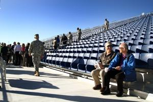 Hood Stadium Ribbon Cutting