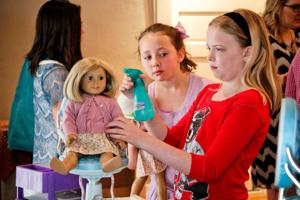 'Mother-Daughter Day in Kit's World'