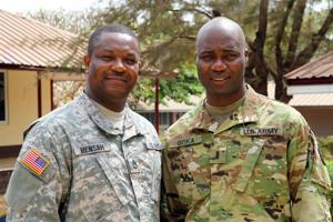 Ghana soldiers
