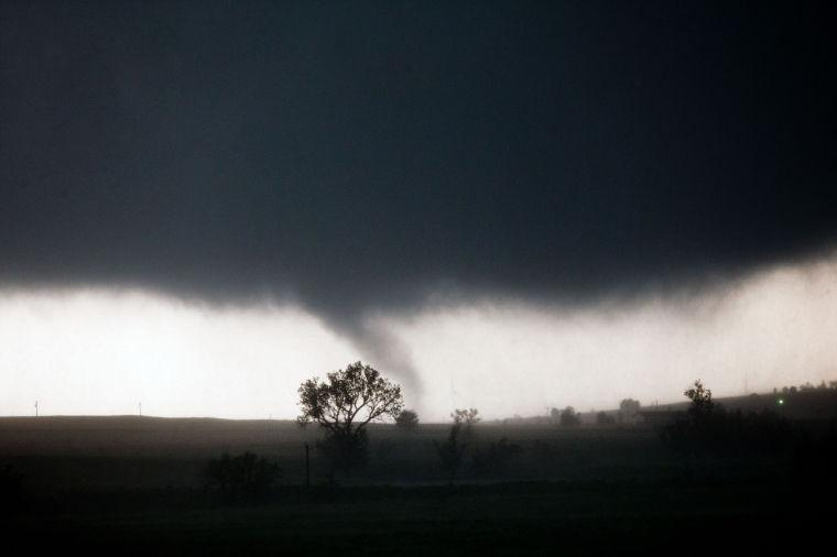 Tornadoes touch down in Oklahoma