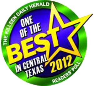 100 Best - One Of The Best: The Killeen Daily Herald Reader's Poll Voted One of the best in Central Texas for 2012