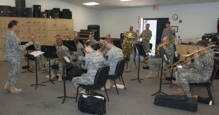 A look into the life of the Army band