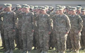 163rd Military Intelligence Battalion Casing Ceremony