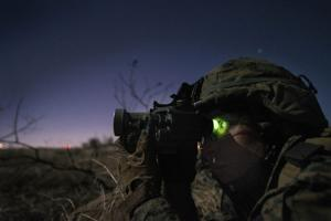 Marine infantry officer students conduct 1,100-mile raid