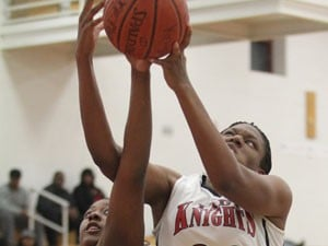 Lady Knights beat Shoemaker in rout