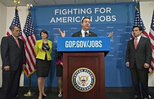 John Boehner, Cathy McMorris Rodgers, Eric Cantor, Trey Radel