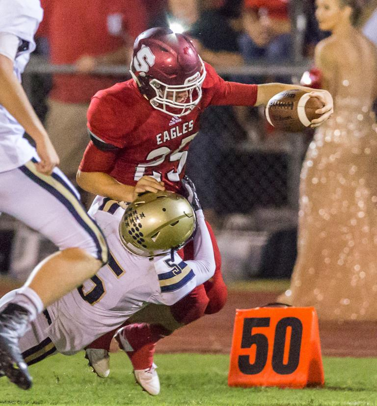 FOOTBALL: Salado routs Austin St. Dominic for 3rd straight win