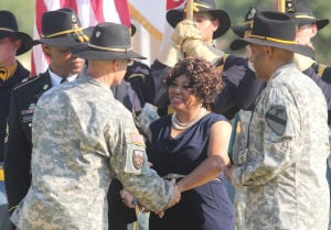 1st Cavalry Division Patch Ceremony