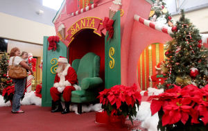 Living Here - Santa at the Mall