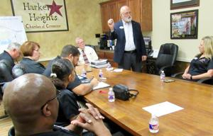 Heights Vision XXI class meets for Local Government Day
