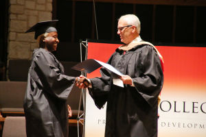 Vista College graduation