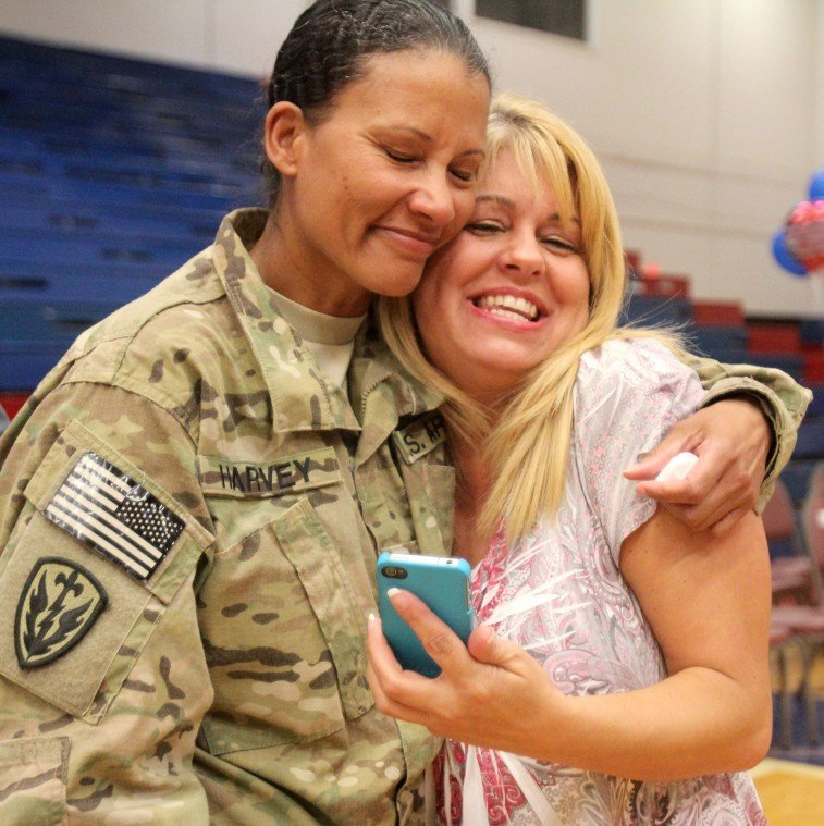 Year in Photos - 1st Medical Brigade Homecoming