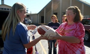 Grace United Methodist Church Turkeys