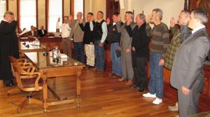 2013 Coryell Officials Sworn In