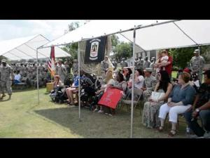 57th Expeditionary Signal Battalion homecoming