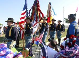 Year in Photos - Memorial Day Ceremony