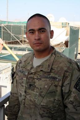 Spc. Victor P. Valdez