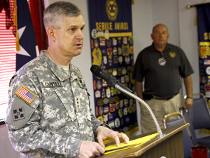 Campbell highlights goals for Fort Hood