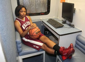 Girls Basketball Preview: Killeen player Tia Harston - Photo by Herald/CATRINA RAWSON