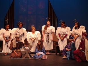 <p>Actors are seen as Mary, Joseph, angels and wisemen during the Nativity scene. The story revolves around the Herdmans who are the meanest, yet poorest kids in town and bully everyone including the harassed pageant director, Mrs. Bradley, played by Jenn Martin. </p>