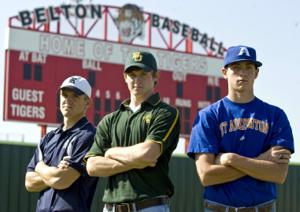 Tiger trio a rarity on baseball diamond