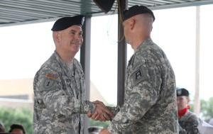479th Field Artillery Brigade change of command