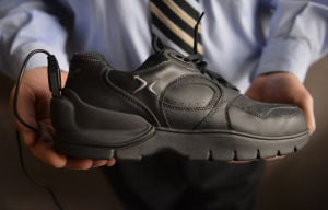 Professor devises shoes with GPS tracking for Alzheimer's patients