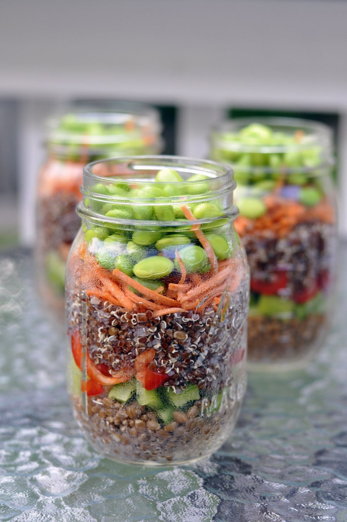Seven-layer salad