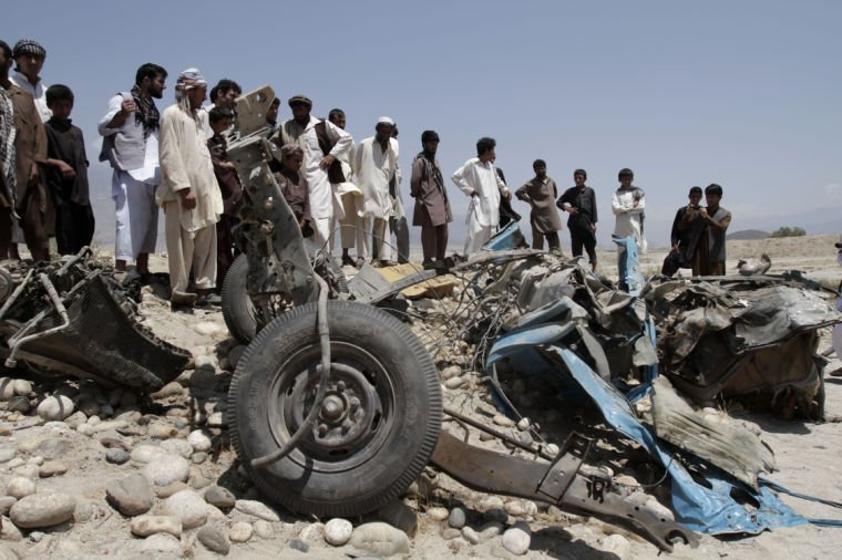 Afghan family killed by roadside bomb