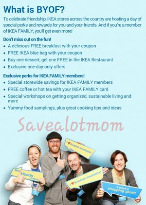 "Ikea ""Bring Your Own Friend"" Day! March 7th!"