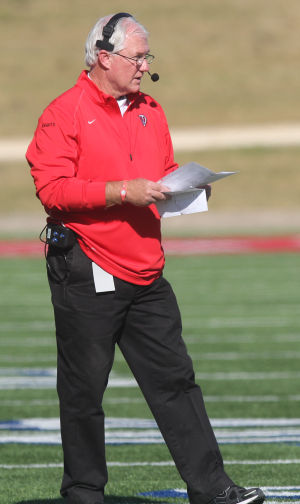 Harker Heights head coach Mike Mullins
