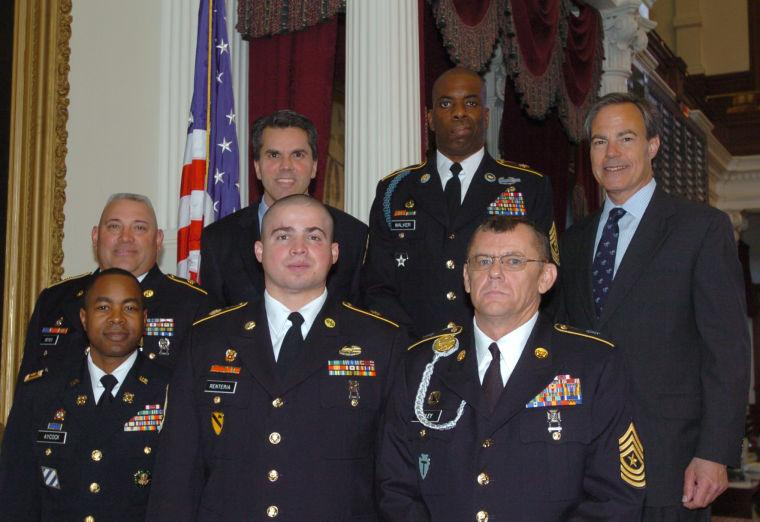Texas House honors wounded warriors