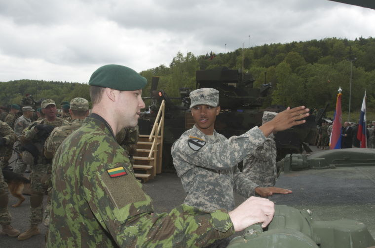 Capabilities Day held at Combined Resolve II
