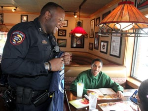 Area police officers raise funds for Special Olympics