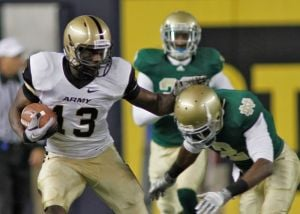 <p>First Lt. Davyd Brooks is one of the latest former Black Knights to be stationed at Fort Hood after his four years of NCAA football eligibility ended. He's rooting for Army to beat Navy on Saturday and end an 11-game losing streak.</p><p></p>